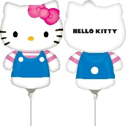 Globo Hello Kitty marinera palito