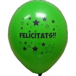 """Globos FELICITATS 12""""-30cm TG"""