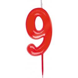 Vela número 9