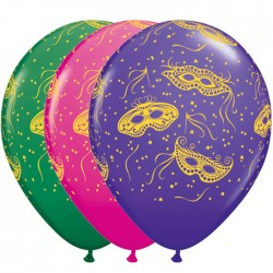 "Globos carnaval 11""-28cm Qualatex"
