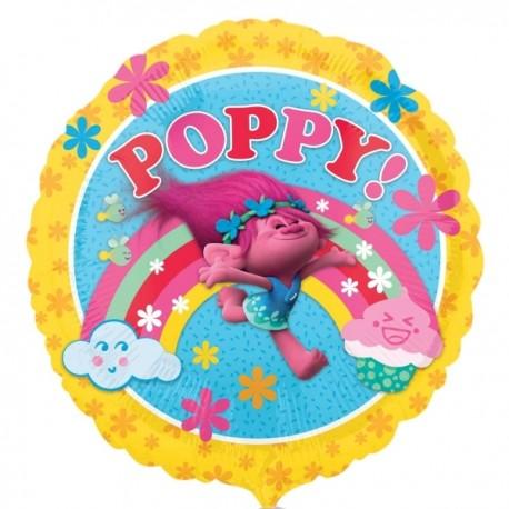 Globo Trolls personaje Poppy