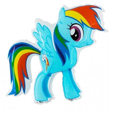 Globo Pony forma Foil