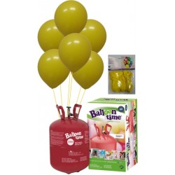 PACK globos ECO AMARILLO Mediana Plus