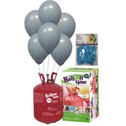 PACK globos ECO celeste Mediana Plus
