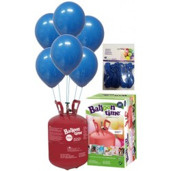 PACK globos ECO azul medio Mediana Plus