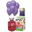 PACK globos ECO lila Mediana Plus