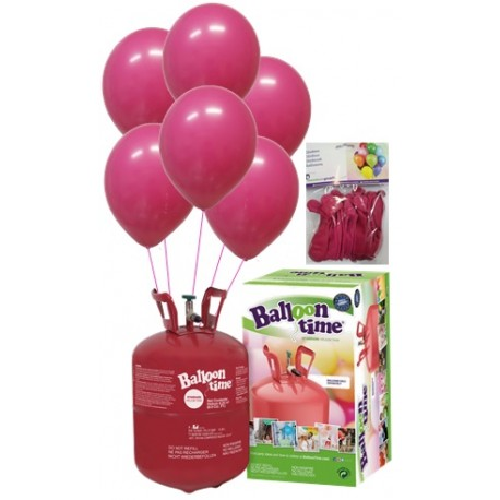 PACK globos ECO FUCSIA Mediana Plus