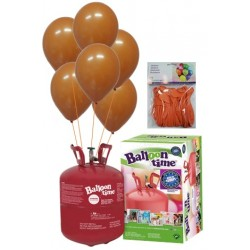PACK globos ECO naranja Mediana Plus