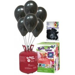PACK globos ECO negro Mediana Plus