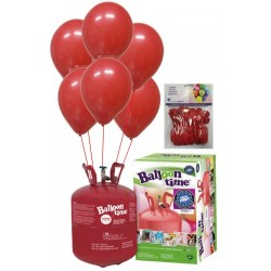 PACK globos ECO rojo Mediana Plus