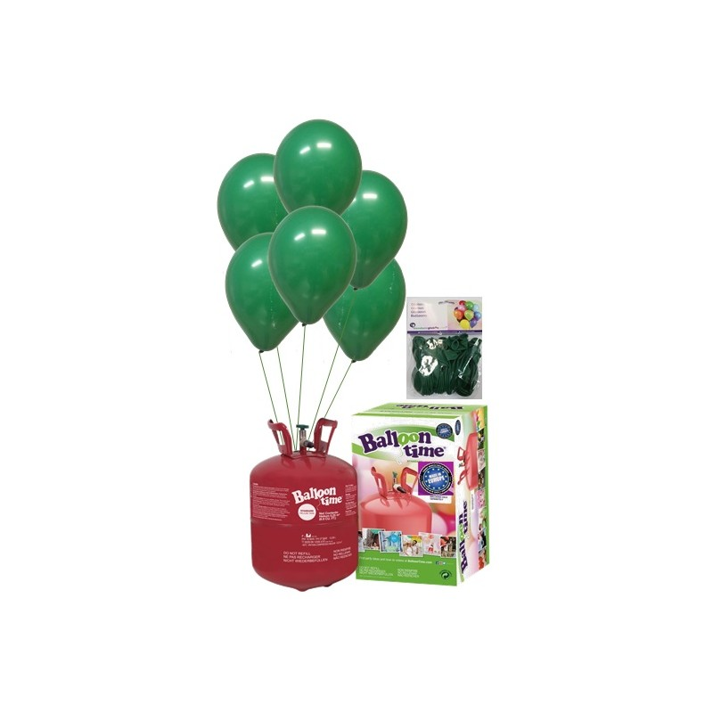PACK globos ECO verde selva Mediana Plus