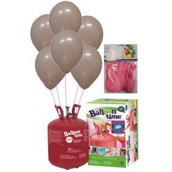 PACK globos ECO rosa Mediana Plus