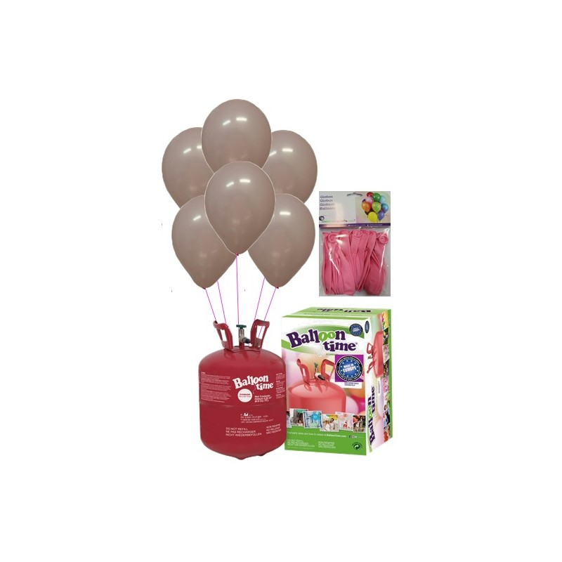 PACK globos ECO ROSA Mediana Plus