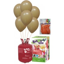 PACK globos ECO MELOCOTÓN Mediana Plus
