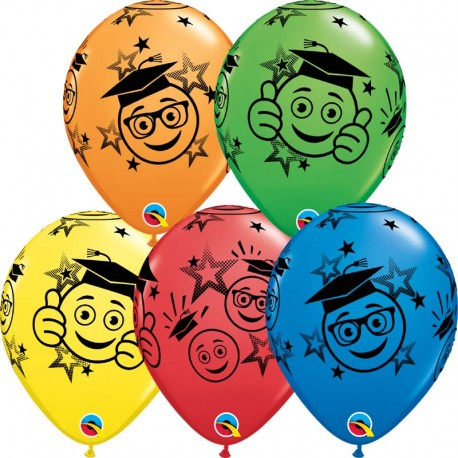 "Globos Graduación 11""-28cm Qualatex"