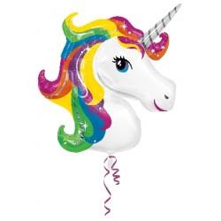 Globo Unicornio forma Foil