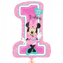 Globo Minnie PRIMER CUMPLE Foil