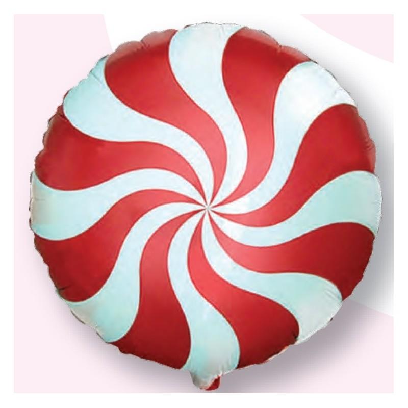 "Globo Espiral Candy 18""-45cm TG"