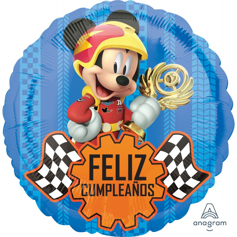 Globo Felicidades Mickey carrera Foil