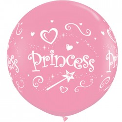 Globos Princess 3'-90cm Qualatex
