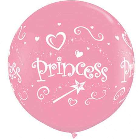 Globos gigantes Princess 3'-90cm Qualatex