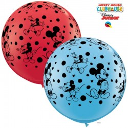 Globos gigantes Mickey 3'-90cm Qualatex