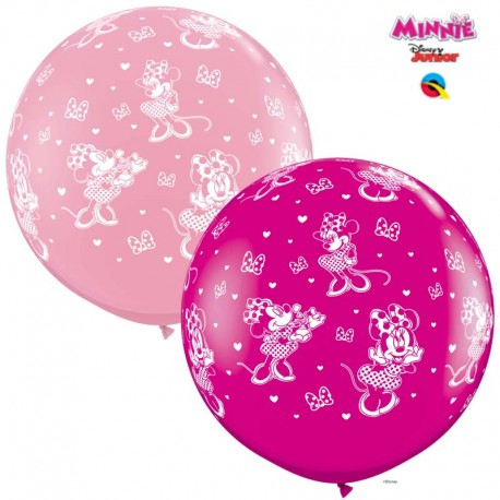 Globos gigantes Minnie 3'-90cm Qualatex