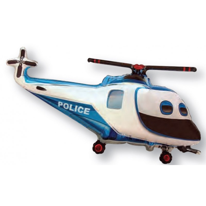 Globo helicóptero foil