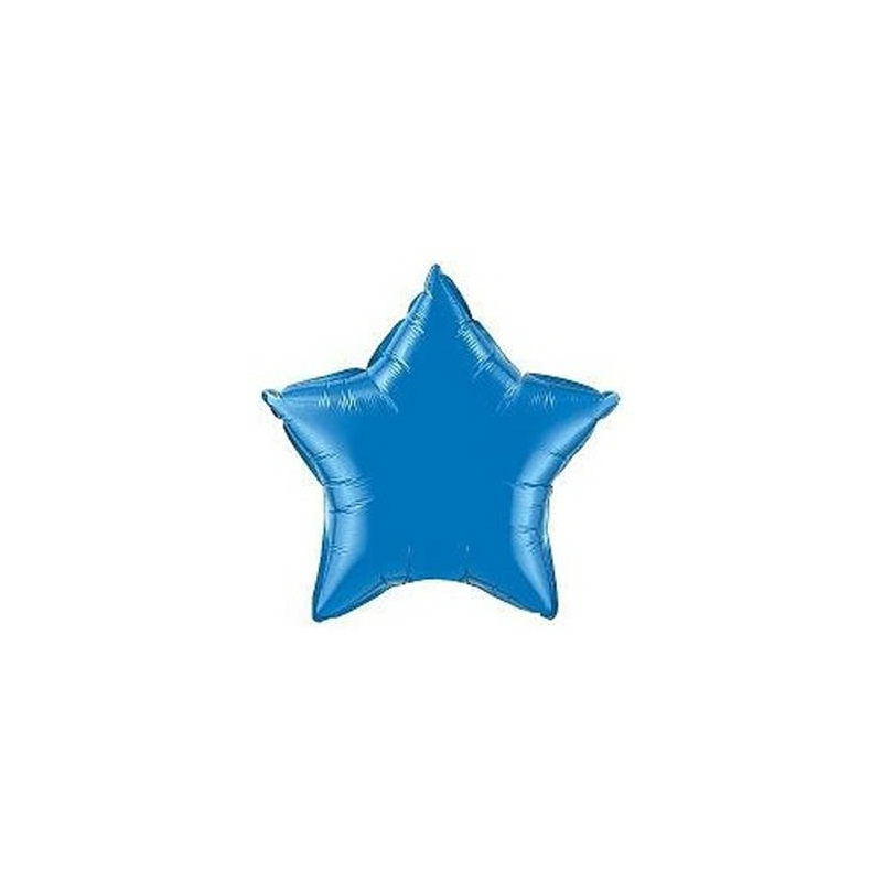 """Globo Estrella de foil 9""""-23cm TG"""