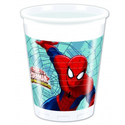 Vasos Spiderman warriors