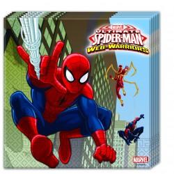 Servilletas Spiderman Warriors