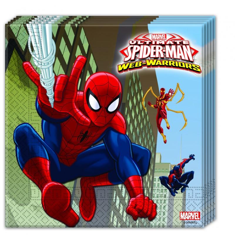 Servilletas Spiderman