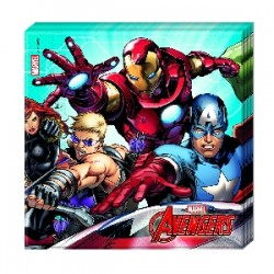 Servilletas Avengers