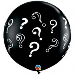 Globos Interrogantes 3'-90cm Qualatex