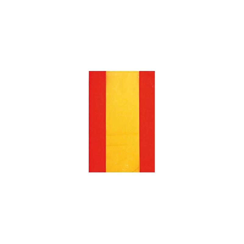 Bandera española de plástico 50m