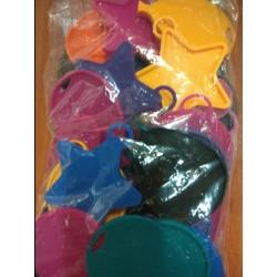 Pesos para globos 15gr surtidos (bolsa 50)