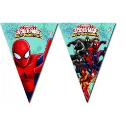 Guirnalda Spiderman Warriors
