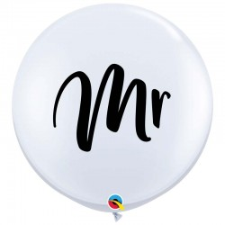 Globos MR Mister 3'-90cm Qualatex