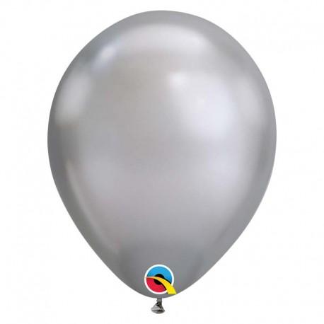 """Globos Chrome 11""""-28cm Qualatex"""