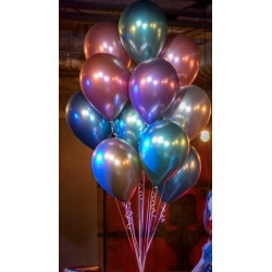 "Globos Chrome 11""-28cm Qualatex"