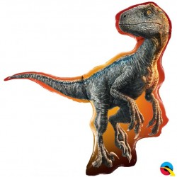 Globo JURASSIC RAPTOR Foil Qualatex