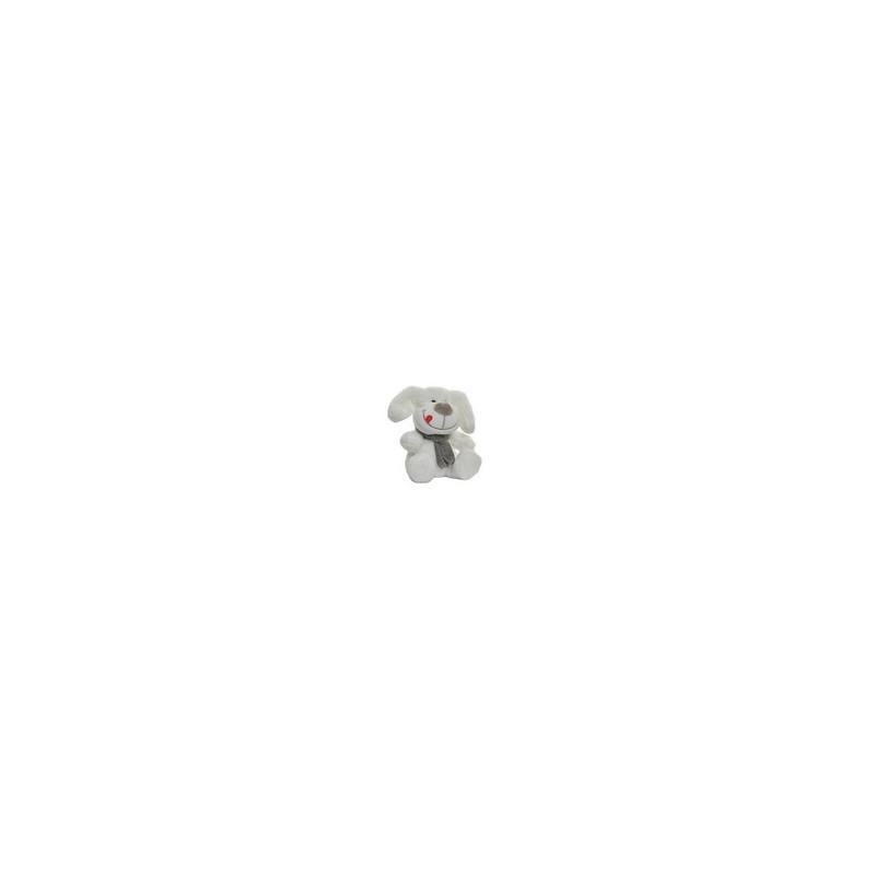 Peluche PERRITO blanco 13cm