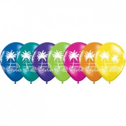 "Globos PALMERAS 11""-28cm Qualatex"