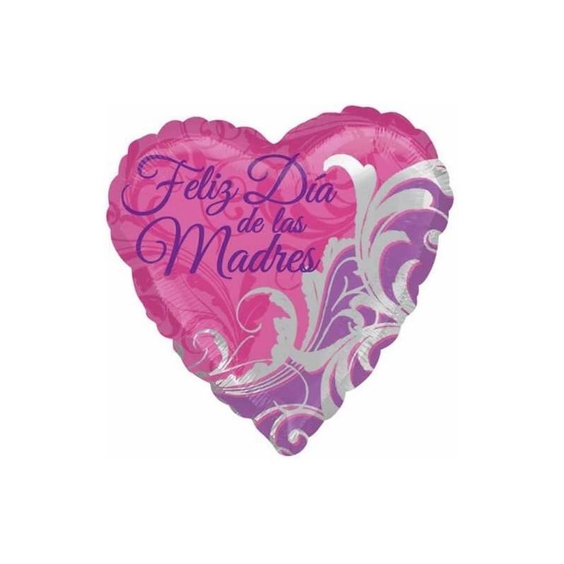 Globo Feliz día madres Foil