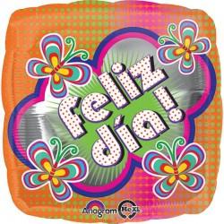 """Globo Feliz día 18""""-45cm"""