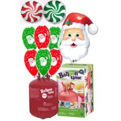 Pack globos Papá Noel Plus