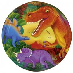 Platos de Dinosaurios