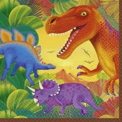 Servilletas de Dinosaurios