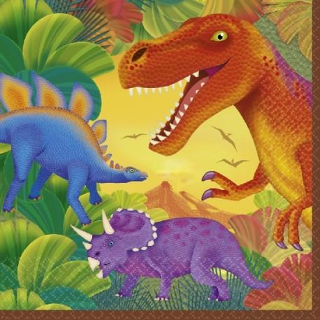 Servilletas Dinosaurios