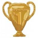 Globo Trofeo copa Champion 1 foil